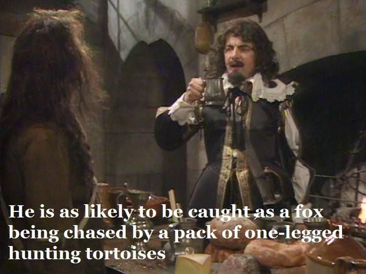 One legged hunting tortoises quote
