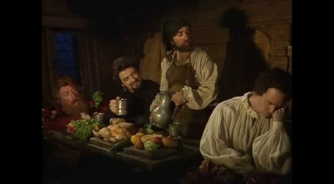Talk like a pirate day with Captain Redbeard Rum from Blackadder