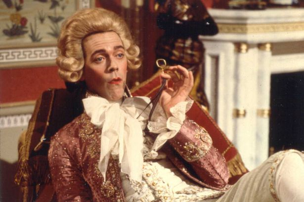 Hugh Laurie as Prince George in Blackadder series 3