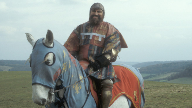 Brian Blessed in Blackadder