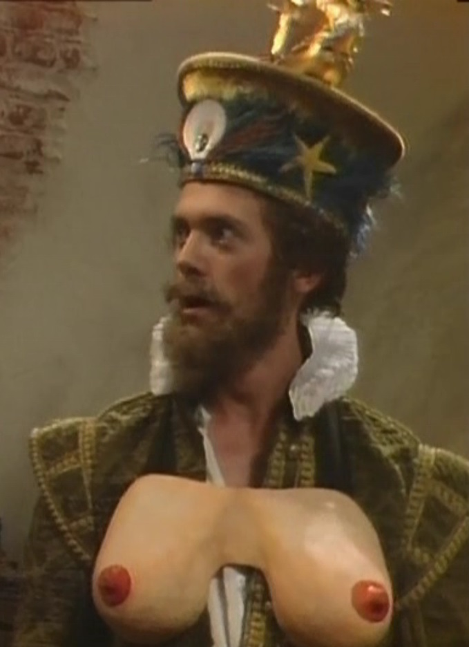 Hugh Laurie in Blackadder Series 2 Beer as Farters Parters
