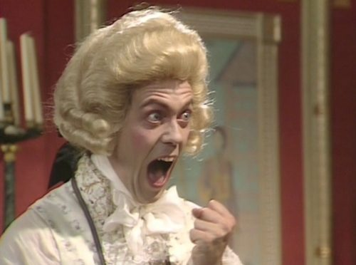 Hugh Laurie in Blackadder