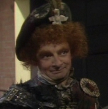 Rowan Atkinson as MacAdder - Blackadder's cousin