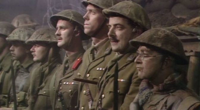Blackadder Goes Forth last scene