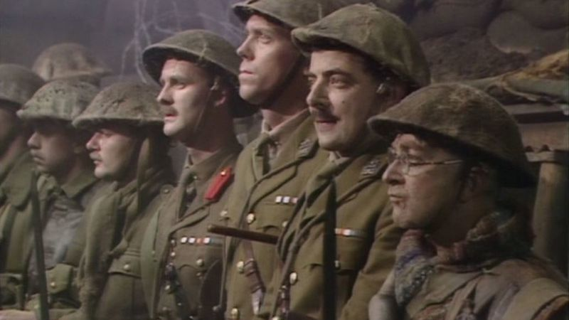 Why the final scene of Blackadder Goes Forth still gives us goosebumps