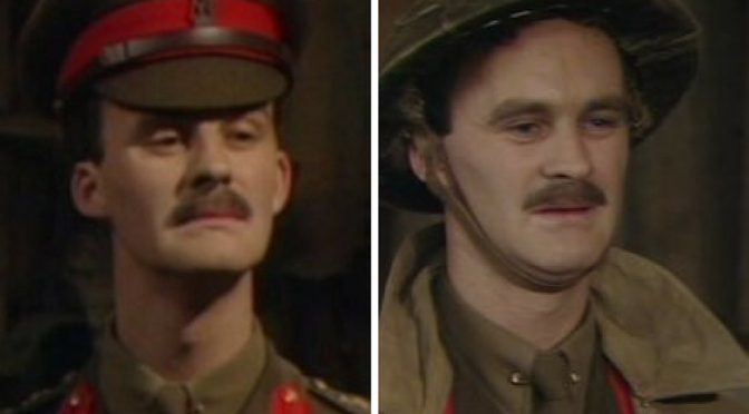 Captain Darling Blackadder – Funny name for a guy isn't it?