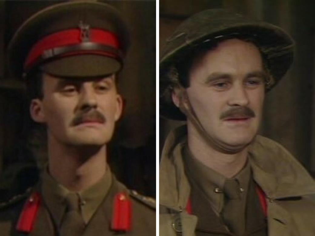 Captain Darling from Blackadder Goes Forth