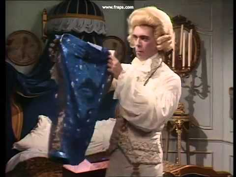 What a pair of trousers! Blackadder George quotes