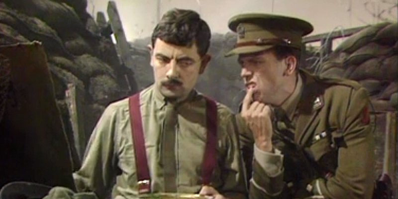 Blackadder trivia and little known facts