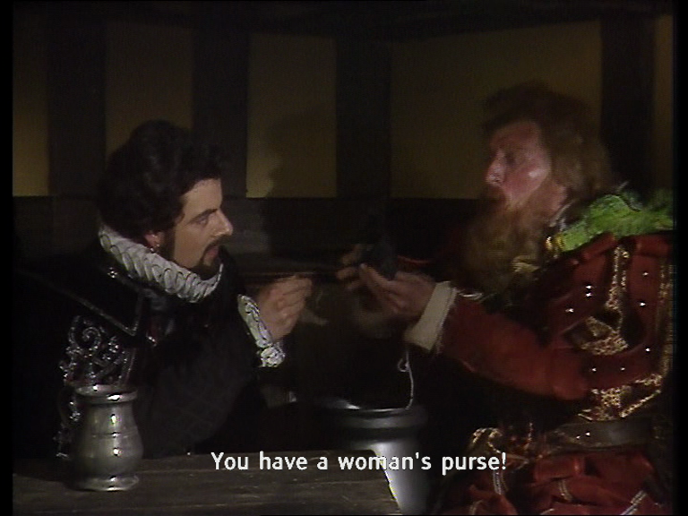 You have a woman's purse my lord!