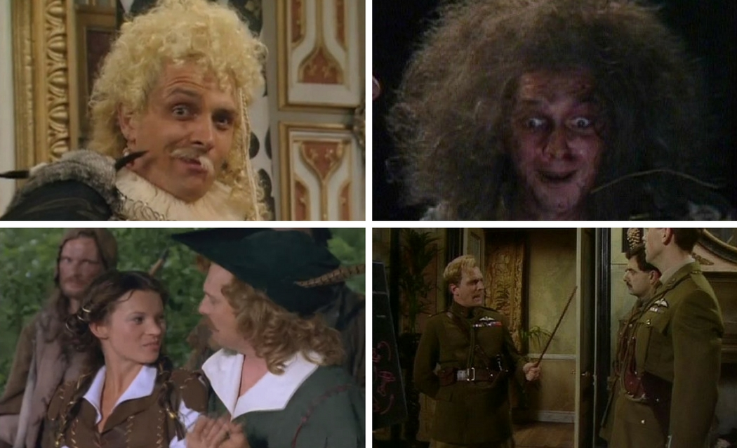 All of the Rik Mayall Blackadder performances including the specials