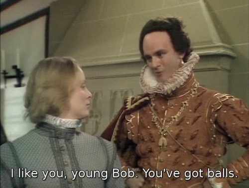 Bob in Blackadder series 2
