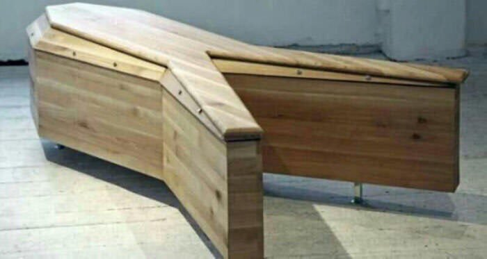 Blackadder Y Shaped Coffin