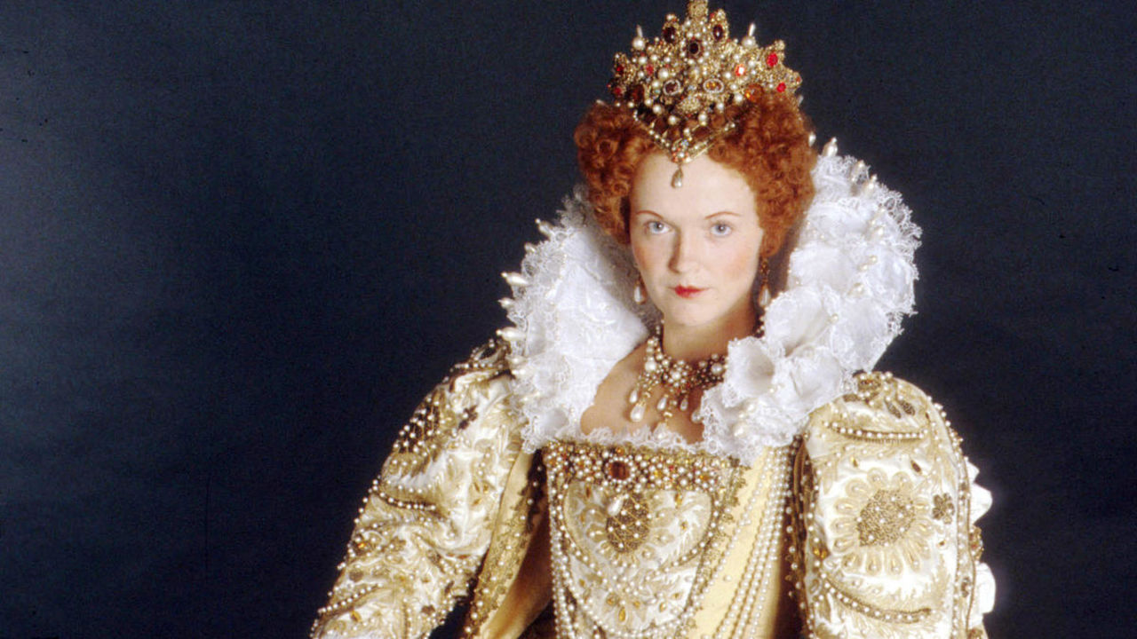 Miranda Richardson as Elizabeth 1 in Blackadder series 2