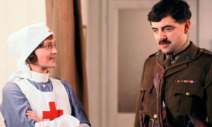 Miranda Richardson as Nurse Mary in Blackadder Goes Forth
